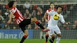 Ander Iturraspe (Athletic Club) & Marcelo (Real Madrid CF)