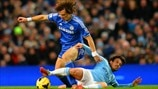 David Luiz (Chelsea FC) & David Silva (Manchester City FC)