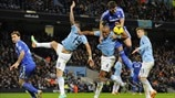 Vincent Kompany (Manchester City FC) & Gary Cahill (Chelsea FC)