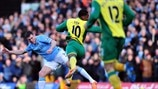 James Milner (Manchester City FC) & Leroy Fer (Norwich City FC)