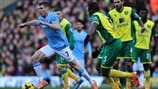 James Milner (Manchester City FC) & Sébastien Bassong (Norwich City FC)