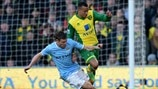 James Milner (Manchester City FC) & Martin Olsson (Norwich City FC)