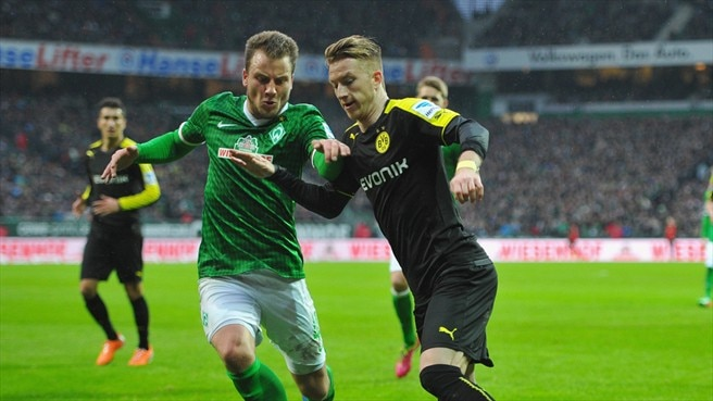 Reus and Bender join Dortmund absentee list