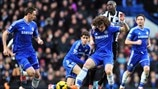 David Luiz (Chelsea FC) & Moussa Sissoko (Newcastle United FC)