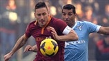 Francesco Totti (AS Roma) & André Dias (SS Lazio)