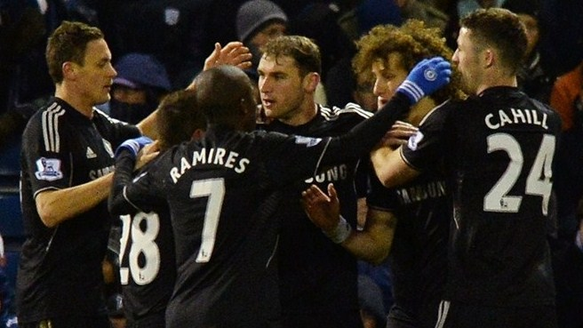 Chelsea denied by late West Brom leveller