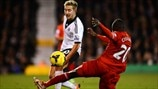 Lewis Holtby (Fulham FC) & Aly Cissokho (Liverpool FC)