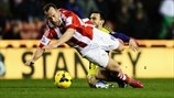Charlie Adam (Stoke City FC) & Leon Britton (Swansea City AFC)