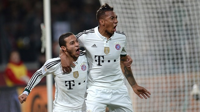 Bayern sink Hannover to streak 19 points clear