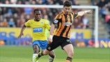 Vurnon Anita (Newcastle United FC) & Shane Long (Hull City AFC)