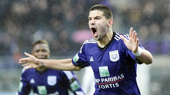 Anderlecht clinch title in Belgium
