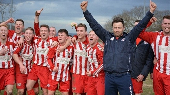 Holywell Town making Welsh Cup history