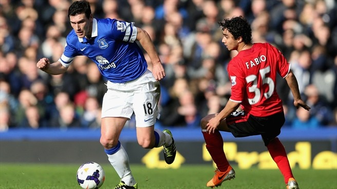 Barry rejoins Everton from Manchester City