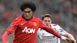 Marouane Fellaini (Manchester United FC) & Joe Allen (Liverpool FC)