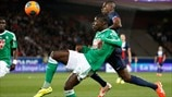 Josuha Guilavogui (AS Saint-Étienne) & Blaise Matuidi (Paris Saint-Germain)