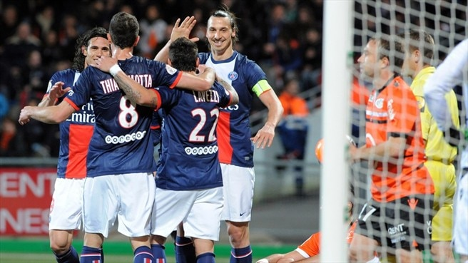 Paris juggernaut rumbles on with Lorient win