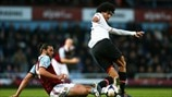 Andy Carroll (West Ham United FC) & Marouane Fellaini (Manchester United FC)