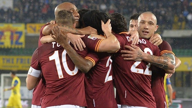Roma cruise as Immobile shines for Torino