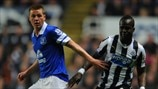 James McCarthy (Everton FC) & Cheick Tioté (Newcastle United FC)