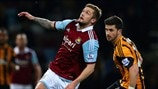 George McCartney (West Ham United FC) & Shane Long (Hull City AFC)