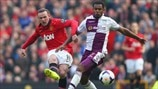 Wayne Rooney (Manchester United FC) & Leandro Bacuna (Aston Villa FC)