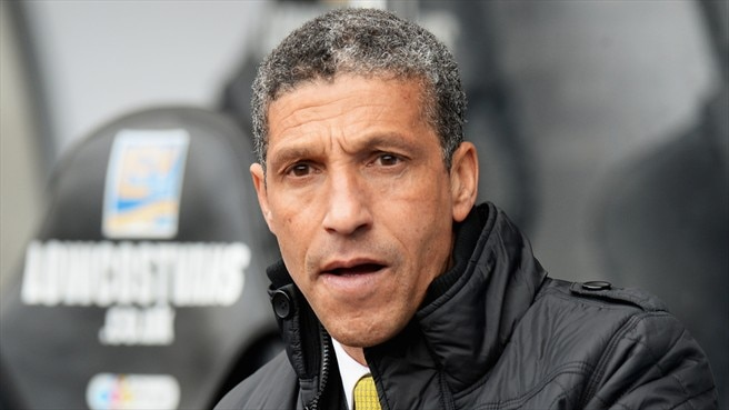 Norwich replace manager Hughton with Adams