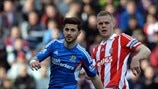Shane Long (Hull City AFC) & Ryan Shawcross (Stoke City FC)