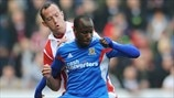 Charlie Adam (Stoke City FC) & Sone Aluko (Hull City AFC)