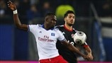 Jacques Zoua (Hamburger SV) & Emre Can (Bayer 04 Leverkusen)