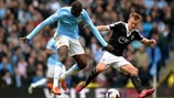 Yaya Touré (Manchester City FC) & James Ward-Prowse (Southampton FC)