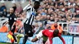 Massadio Haïdara (Newcastle United FC) & Ashley Young (Manchester United FC)
