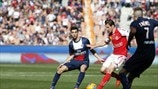 Javier Pastore (Paris Saint-Germain) & Florent Ghisolfi (Stade de Reims)