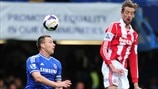 John Terry (Chelsea FC) & Peter Crouch (Stoke City FC)