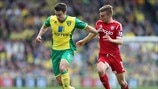 Russell Martin (Norwich City FC) & James Morrison (West Bromwich Albion FC)