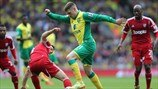 James Morrison (West Bromwich Albion FC) & Gary Hooper (Norwich City FC)
