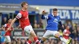Per Mertesacker (Arsenal FC) & Ross Barkley (Everton FC)