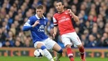 Ross Barkley (Everton FC) & Santi Cazorla (Arsenal FC)
