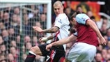 Martin Škrtel (Liverpool FC) & Andy Carroll (West Ham United FC)