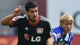 Emre Can (Bayer 04 Leverkusen) & Per Ciljan Skjelbred (Hertha BSC Berlin)