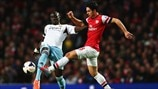 Mohamed Diame (West Ham United FC) & Mikel Arteta (Arsenal FC)