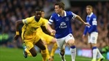 Yannick Bolasie (Crystal Palace FC) & Seamus Coleman (Everton FC)