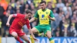 Joe Allen (Liverpool FC) & Robert Snodgrass (Norwich City FC)
