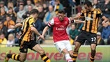 Mesut Özil (Arsenal FC), James Chester & Ahmed Al-Muhammadi (Hull City AFC)