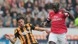 George Boyd (Hull City AFC) & Bacary Sagna (Arsenal FC)