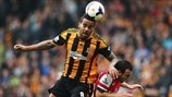 Tom Huddlestone (Hull City AFC) & Santi Cazorla (Arsenal FC)
