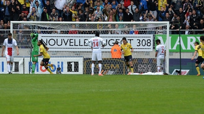 Paris champagne put on ice by Sochaux