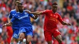 Ashley Cole (Chelsea FC) & Raheem Sterling (Liverpool FC)