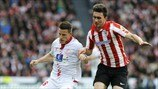 Kevin Gameiro (Sevilla FC) & Aymeric Laporte (Athletic Club)
