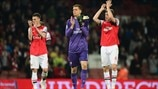 Arsenal FC players celebrate