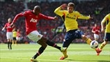 Ashley Young (Manchester United FC) & Marcos Alonso (Sunderland AFC)